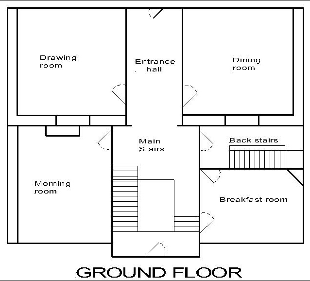 Anglia Dolls Houses ready to move in – Georgian House Floor Plans Uk